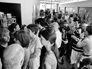 Die Spannung im Caligari-Foyer steigt