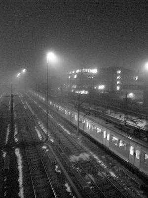 Nebel in Vaihingen II