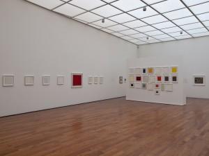 Einblick in die Calderara-Ausstellung