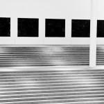 Treppenaufgang in der Pinakothek der Moderne