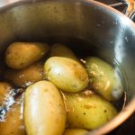 Erstmal Kartoffeln kochen ...