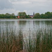 Regentag am See